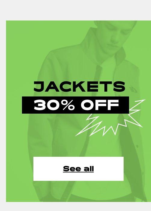 PRE-SALE 30% OFF - Jackets