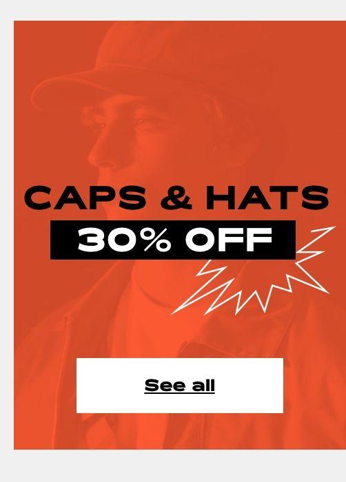 PRE-SALE 30% OFF - Caps & Hats