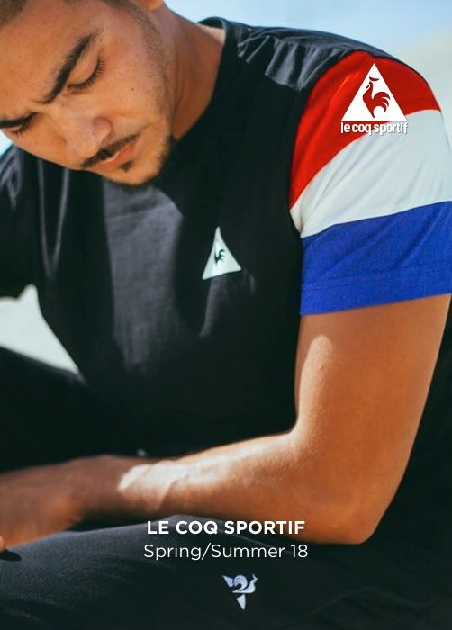 LE COQ SPORTIF Spring/Summer 18