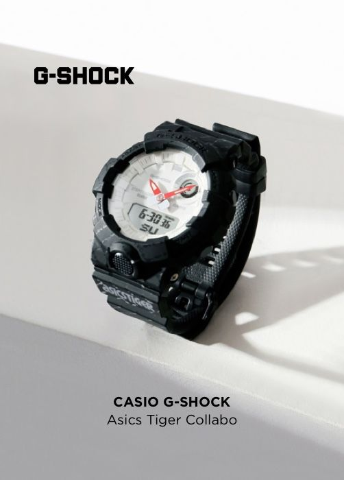 CASIO G-SHOCK Asics Tiger Collabo