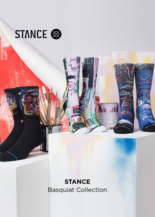 STANCE Basquiat Collection