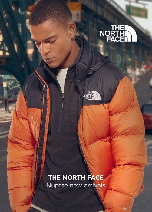 THE NORTH FACE Nuptse Mango