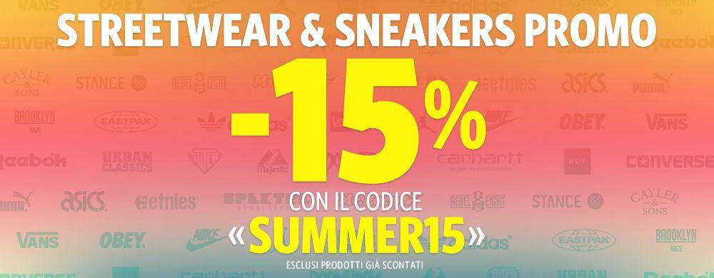 Promo Summer -15%