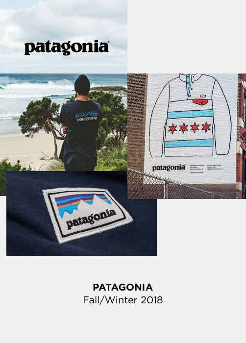 PATAGONIA - Fall/Winter 2018