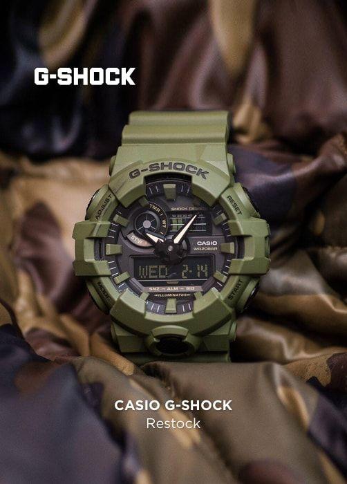 CASIO G-SHOCK Restock