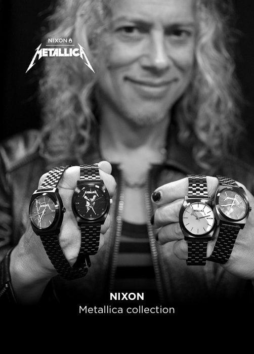 NIXON Metallica collection