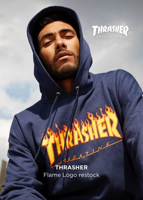 THRASHER Flame Logo Restock