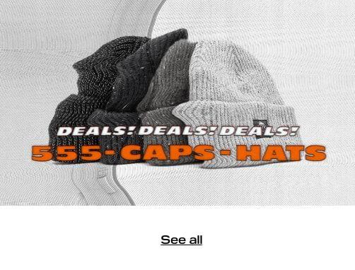 FINAL SALE - Caps & Hats