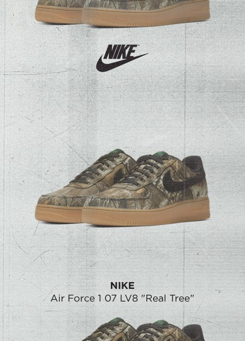 NIKE Air Force 1 07 LV8 Real Tree