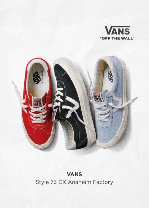 VANS Style 73 DX Anaheim Factory