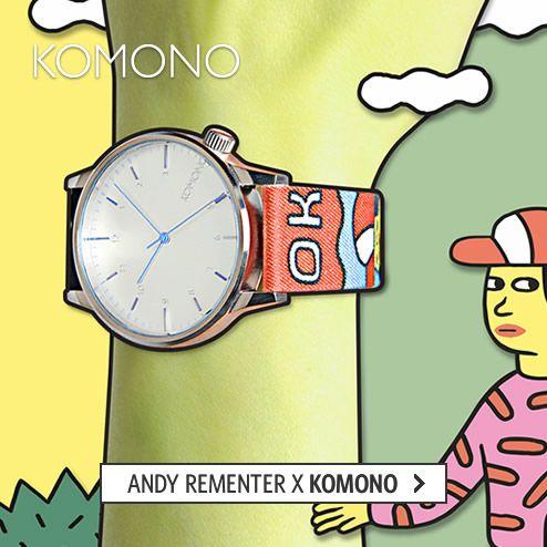 Andy Rementer x KOMONO