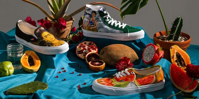 promo code 34aff 40a9d Vans x Frida Kahlo Collection | Free shipping at Graffitishop