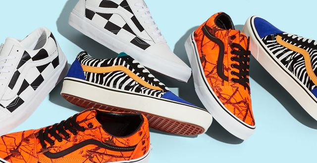 vans old skool light h orange europa