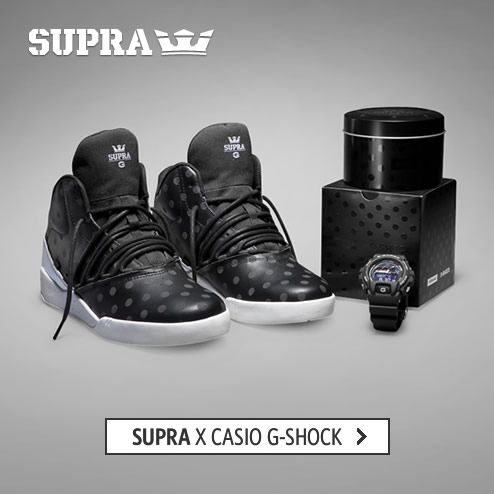 SUPRA X Casio G-shock