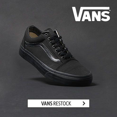 VANS Restock