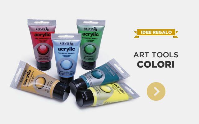 IDEE REGALO - Art Tools Colori