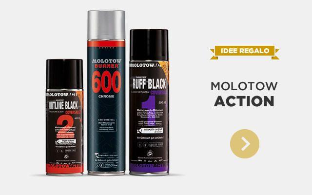 IDEE REGALO - Molotow Action