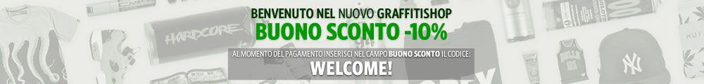 Welcome! Buono Sconto -10%