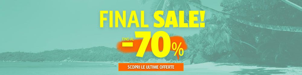 SALDI Final Sale fino al -70%