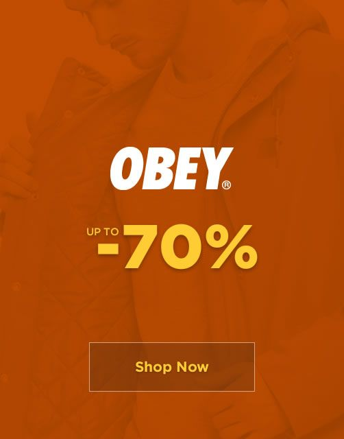 SALE up to -70% - Obey