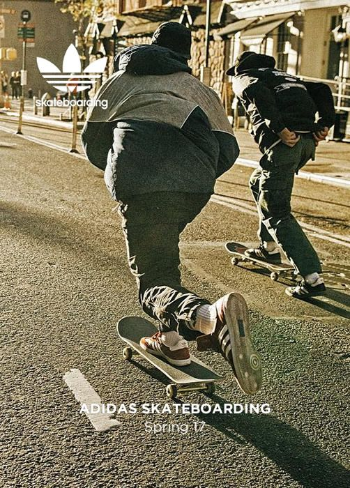 ADIDAS SKATEBOARDING Spring 17