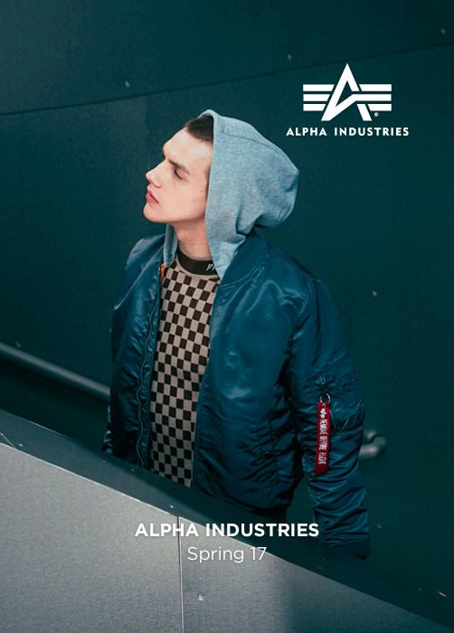 ALPHA INDUSTRIES Spring Summer 17