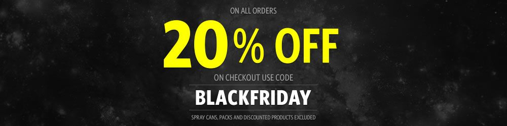 BLACK FRIDAY SPECIAL -20% on all orders