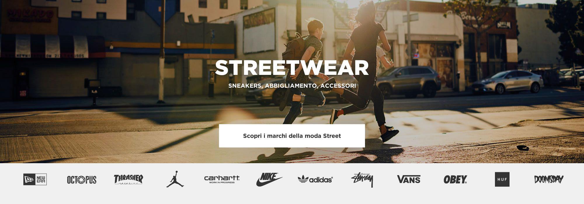 STREETWEAR Sneakers Abbigliamento Accessori 95e78cde22df