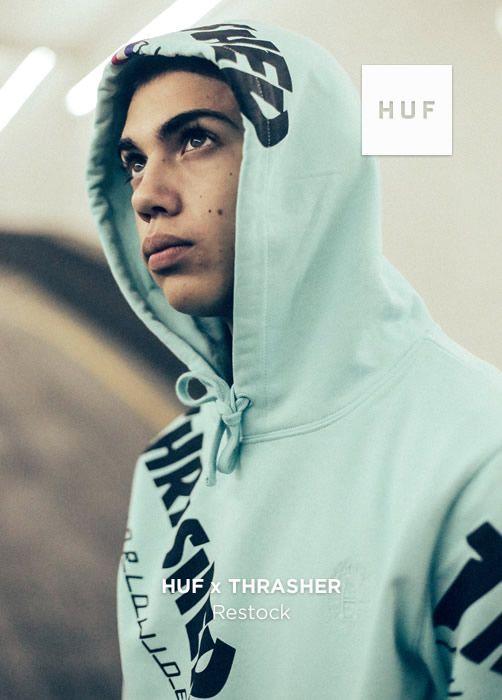 HUF x THRASHER Restock