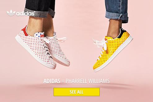ADIDAS = Pharrell Williams
