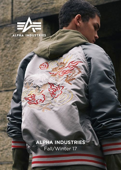 ALPHA INDUSTRIES Fall/Winter 17