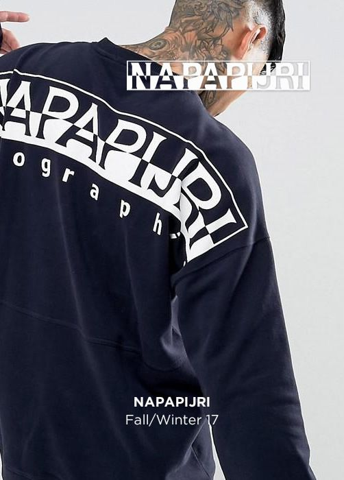 NAPAPIJRI Fall/Winter 17