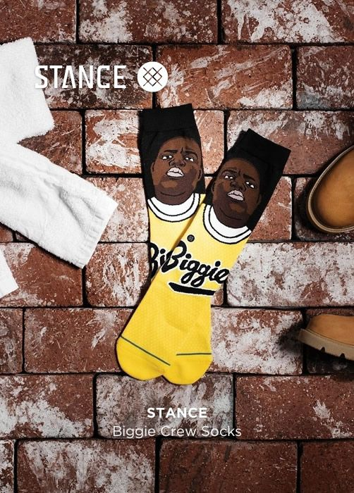 STANCE Biggie Crew Socks