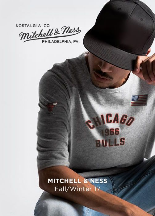 MITCHELL & NESS Fall/Winter 17