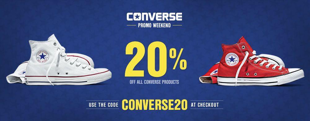 CONVERSE -20%