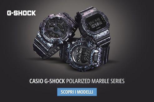 CASIO G-SHOCK Polarized Marble Series