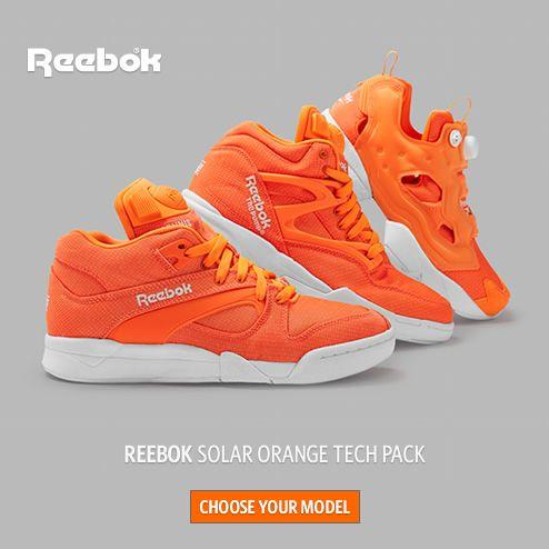 REEBOK Solar Orange Tech Pack