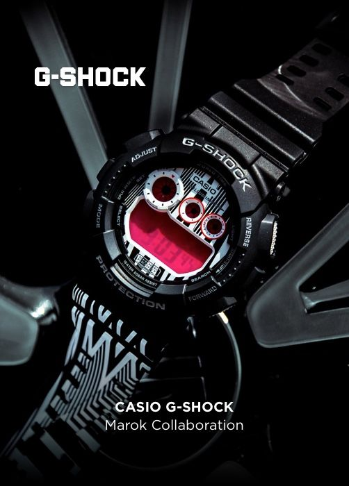 CASIO G-SHOCK Marok Collaboration