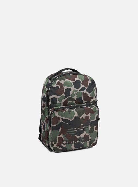 accessori adidas originals classic camouflage backpack multicolor