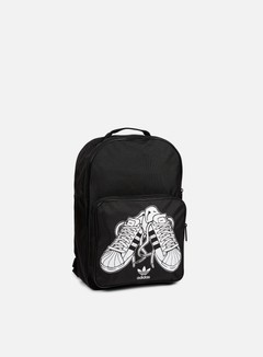 Adidas Originals - Classic Superstare Backpack, Black/White 1