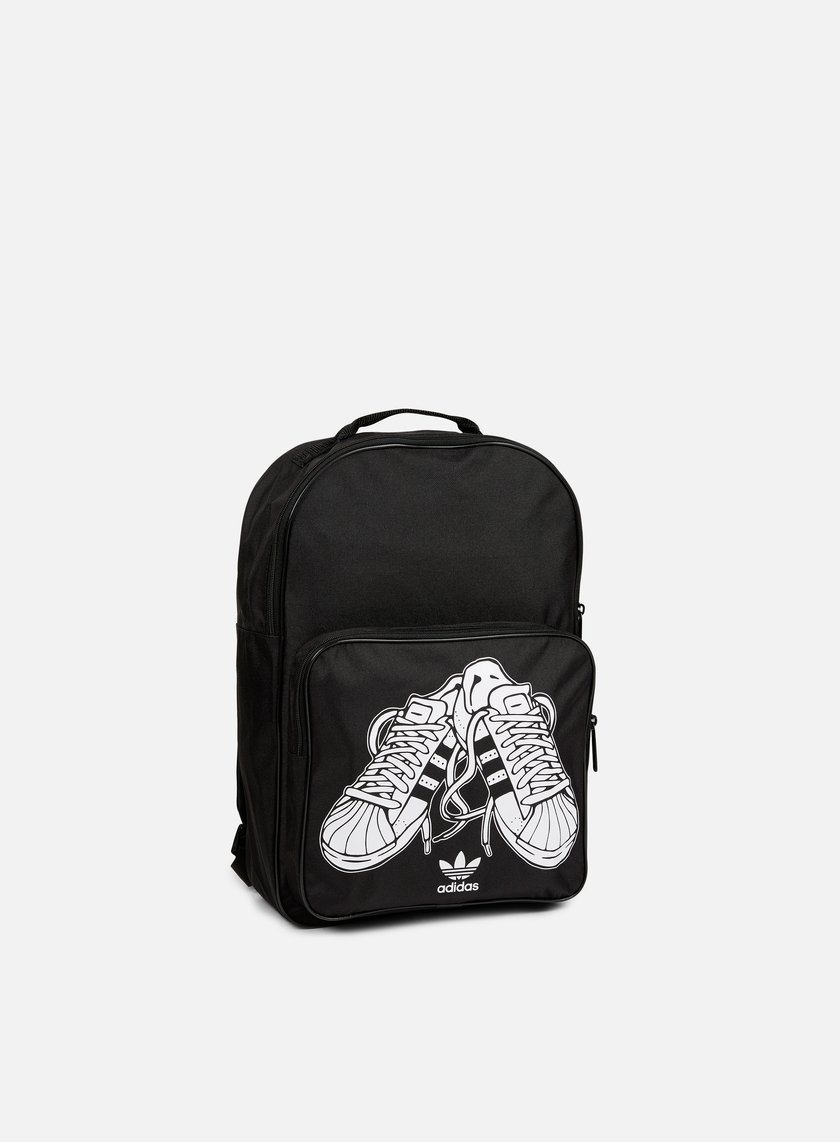 Adidas Originals - Classic Superstare Backpack, Black/White