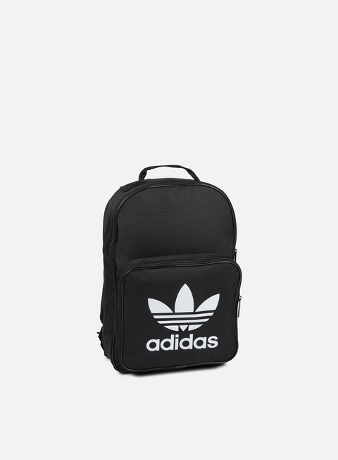 accessori adidas originals classic trefoil backpack black