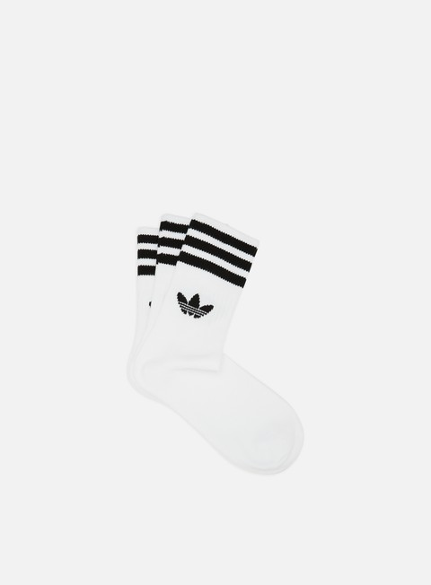 Outlet e Saldi Calze Adidas Originals Mid Cut 3 Pair Crew Socks