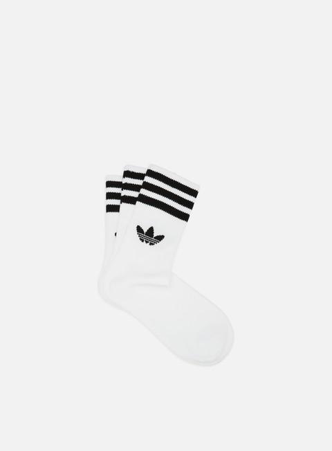 Outlet e Saldi Calze Adidas Originals Mid Cut 3 Pair Crew Socks