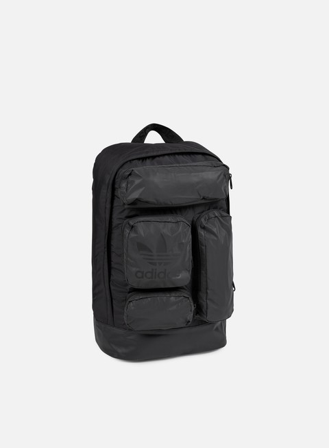 accessori adidas originals multi pocket backpack black