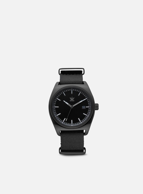 accessori adidas originals processw2 all black gunmetal