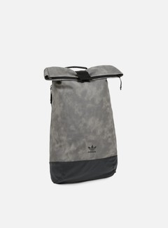 Adidas Originals - Roll Up Backpack, Mgh Solid Grey 1