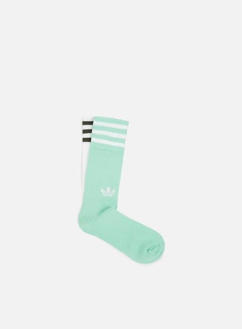 Outlet e Saldi Calze Adidas Originals Solid 2 Pair Crew Socks