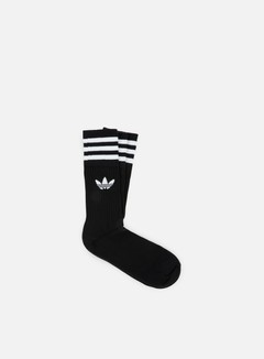 Adidas Originals - Solid Crew Socks, Black/White 1