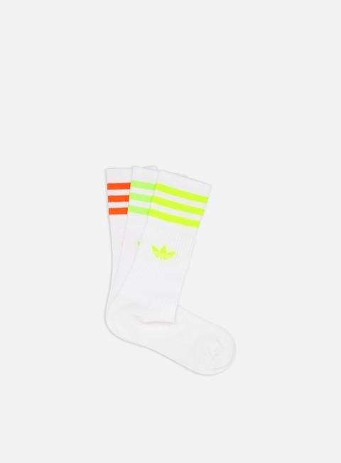 Outlet e Saldi Calze Adidas Originals Solid Crew Socks